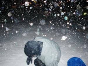 Snön yr