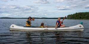 Paddlar kanot