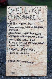 Glassmeny