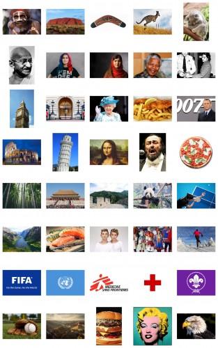Internationella kort - Äventyrare och utmanare 1