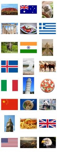Internationella kort - Upptäckare 2